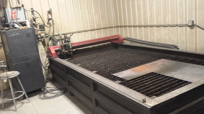PlowFlowmaster Laser Guided Waterjet System