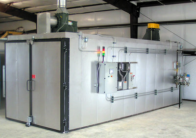 PlowFlowmaster Powder Coating Oven